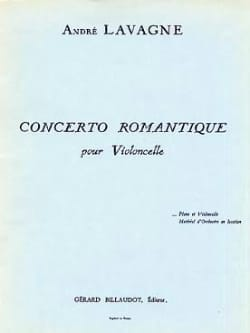 Concerto romantique - André Lavagne - Partition - laflutedepan.com