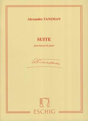 Suite -Basson et piano Alexandre Tansman Partition laflutedepan