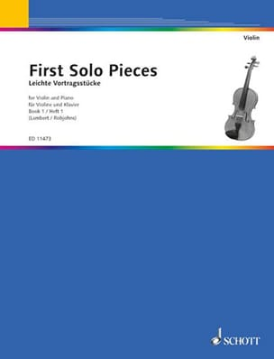 First solo pieces, book 1 solo pieces First Partition laflutedepan