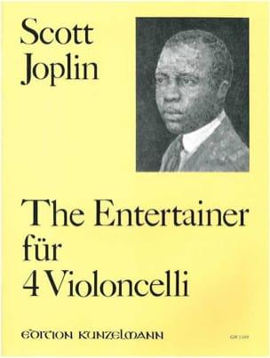 The Entertainer für 4 VIoloncelli JOPLIN Partition laflutedepan