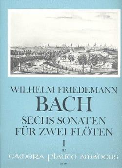 6 Sonates Volume 1 Wilhelm Friedemann Bach Partition laflutedepan