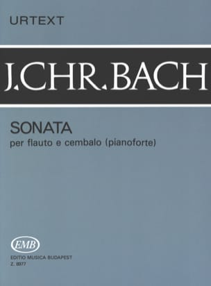Sonata -Flauto e cembalo piano Johann Christian Bach laflutedepan
