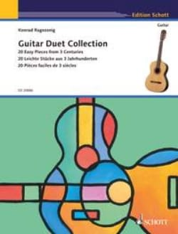 Guitar Duet Collection Konrad Ragossnig Partition laflutedepan
