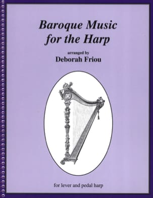 Baroque Music for the Harp Partition Harpe - laflutedepan