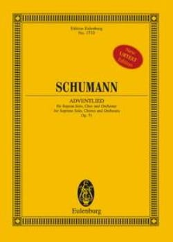 Adventlied, op. 71 - SCHUMANN - Partition - laflutedepan.com