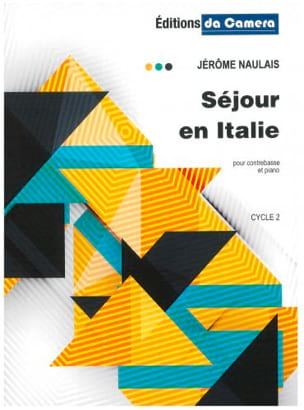Séjour en Italie Jérôme Naulais Partition Contrebasse - laflutedepan