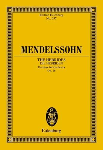 Die Hebriden, op. 26 - Ouvertüre - Partitur - laflutedepan.com