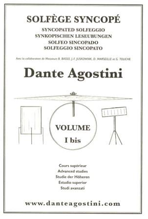 Dante Agostini - Solfège Syncopé N ° 1 Bis - Partition - di-arezzo.de