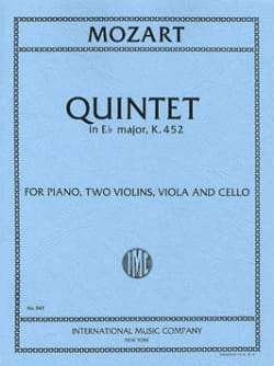 Quintet in Eb major KV 452 - Parts - MOZART - laflutedepan.com
