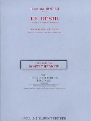 Le Désir op. 21 - Flûte et piano - Theobald Boehm - laflutedepan.com