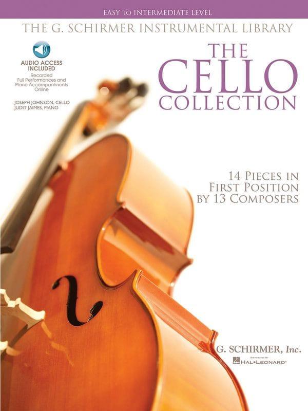 The Cello Collection - Easy to Intermediate Level - laflutedepan.com