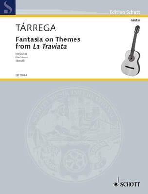 Fantasie TARREGA Partition Guitare - laflutedepan