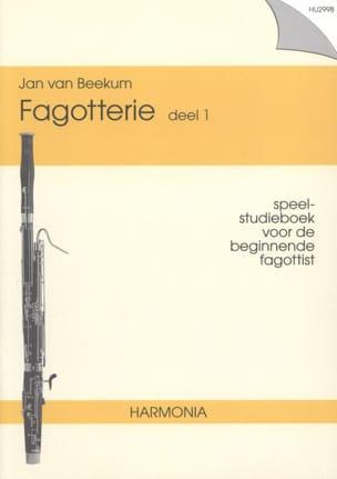Fagotterie -Deel 1 Jan van Beekum Partition Basson - laflutedepan