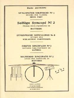 Solfège Syncopé n° 2 Dante Agostini Partition Solfèges - laflutedepan