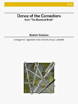 Danse des Comédiens SMETANA Partition Flûte traversière - laflutedepan