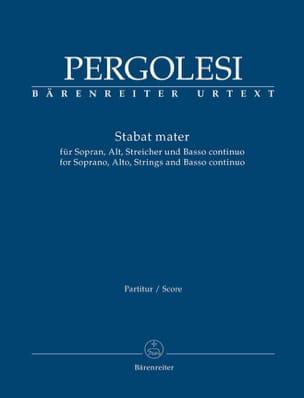 Stabat Mater - Conducteur PERGOLESE Partition laflutedepan
