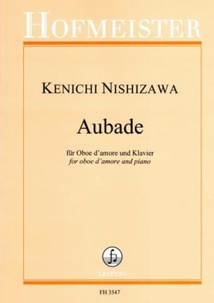 Aubade, op. 102 Kenichi Nishizawa Partition Hautbois - laflutedepan
