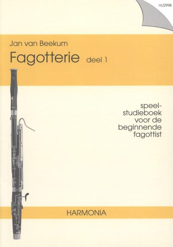 Fagotterie -Deel 1 - Jan van Beekum - Partition - laflutedepan.com