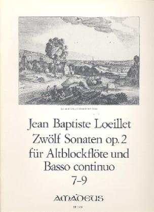 12 Sonaten op. 2 : n° 7-9 - Altblockflöten u. Bc - laflutedepan.com
