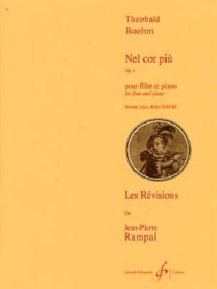 Nel cor piu op. 4 - Flûte piano Theobald Boehm Partition laflutedepan