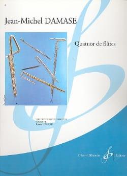 Quatuor de Flûtes - Jean-Michel Damase - Partition - laflutedepan.com