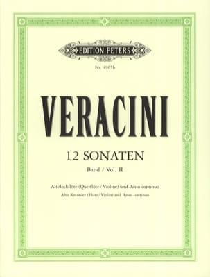 12 Sonaten, Bd. 2 - Blockflöte u. Bc laflutedepan