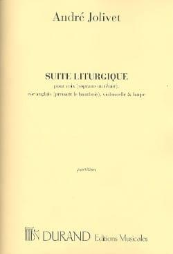 Suite Liturgique - Partition André Jolivet Partition laflutedepan
