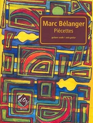 Piécettes Marc Bélanger Partition Guitare - laflutedepan