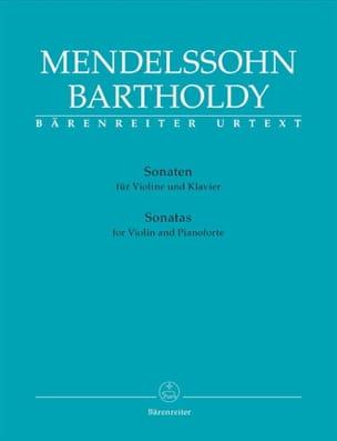 Sonates Pour Violon et Piano MENDELSSOHN Partition laflutedepan