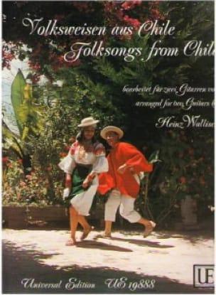 Volksweisen aus Chile - 2 Gitarren - Heinz Wallisch - laflutedepan.com
