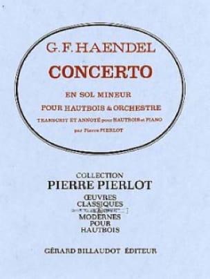 Concerto Hautbois en sol mineur - HAENDEL - laflutedepan.com