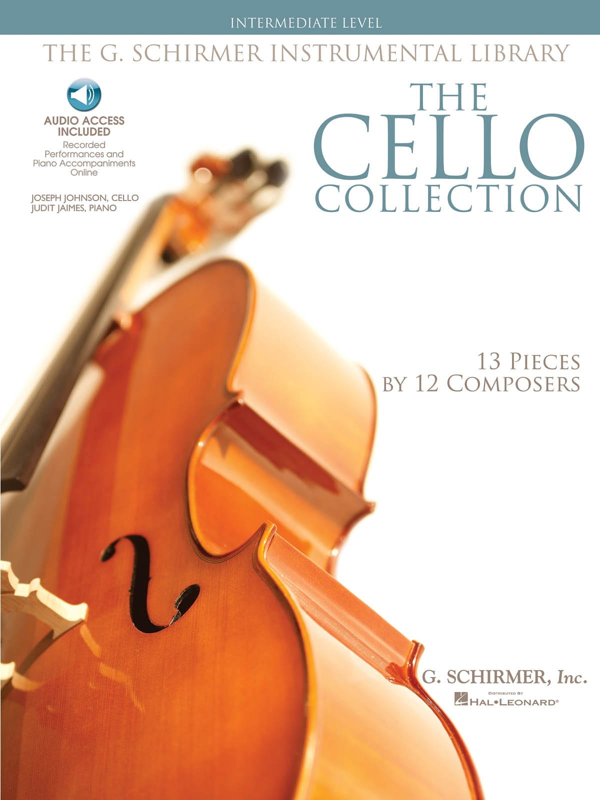 The Cello Collection - Intermediate Level - laflutedepan.com