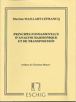 Principes fondamentaux d'analyse harmonique et de transposition laflutedepan