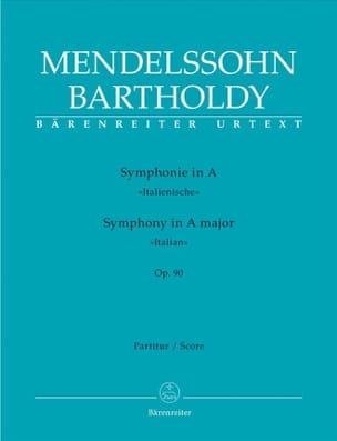 Symphonie en la Majeur Op.90 Italienne MENDELSSOHN laflutedepan