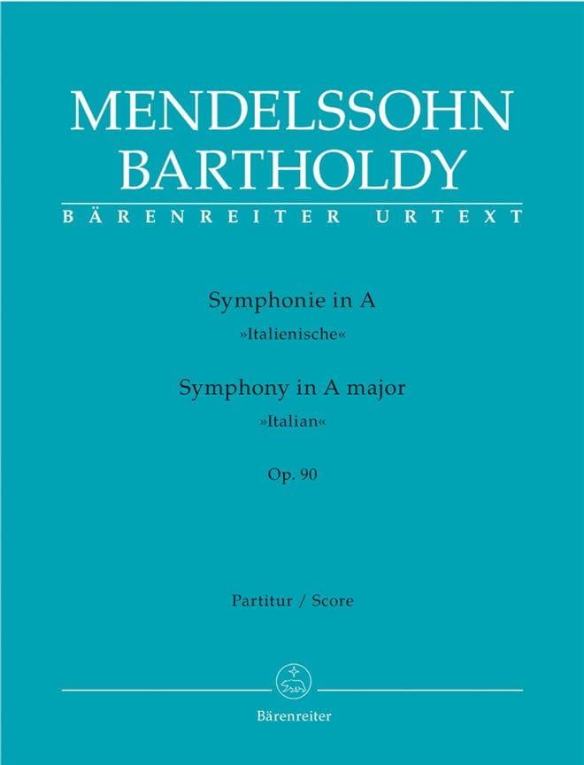 Symphonie en la Majeur Op.90 Italienne - laflutedepan.com