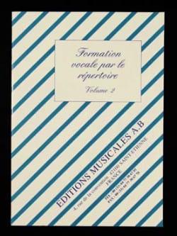 Formation Vocale Par le Répertoire Vol 2 Louis Fazzari laflutedepan