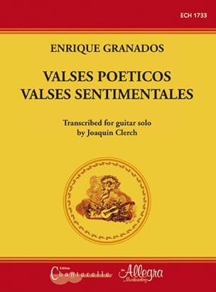 Enrique Granados - Valses Poeticos - Sentimentale Walzer / Gitarre - Partition - di-arezzo.de