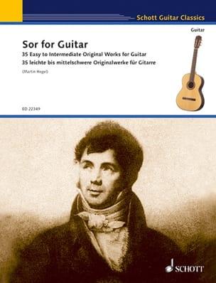 Sor for Guitar - 35 works SOR Partition Guitare - laflutedepan