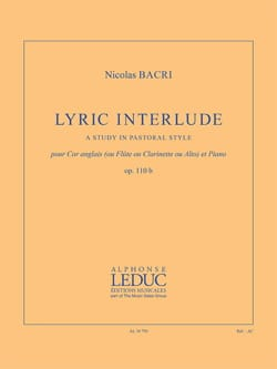 Lyric Interlude - Cor Anglais et Piano - laflutedepan.com