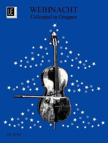 Weihnacht. Cellospiel in Gruppen - Partition - laflutedepan.com