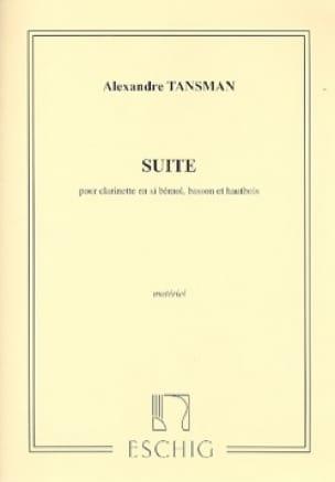 Suite pour trio d'anches - Parties - laflutedepan.com