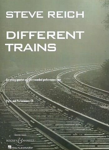 Different Trains - String Quartet - Parts - laflutedepan.com