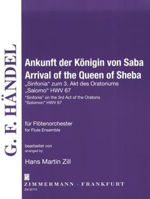 Arrival of the Queen of Sheba - Flute Ensemble HAENDEL laflutedepan