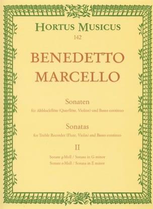 Sonaten op. 2 - Bd. 2 Nr. 3-4 - Altblockflöte u. Bc laflutedepan