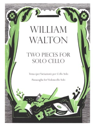 2 Pieces For Cello Solo William Walton Partition laflutedepan