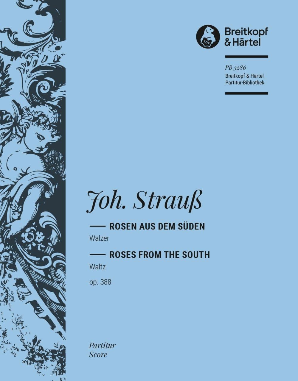 Rosen aus dem Süden op. 388 - Johann Strauss - laflutedepan.com