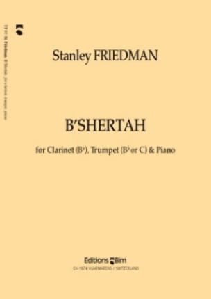 B' Shertah -Clarinet trumpet piano - laflutedepan.com