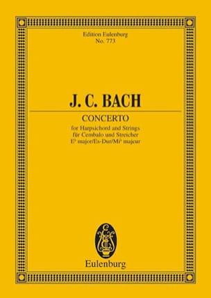 Klavier-Konzert Es-Dur Johann Christian Bach Partition laflutedepan