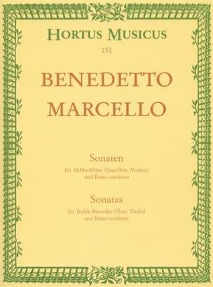Sonaten op. 2 - Bd. 1 Nr. 1-2 - Altblockflöte u. Bc laflutedepan