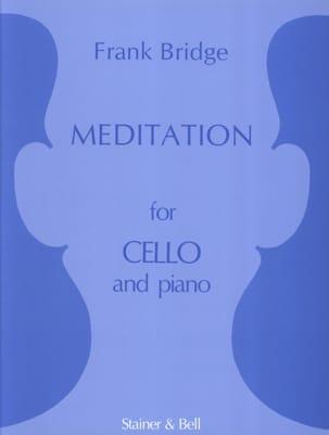 Meditation - Cello Frank Bridge Partition Violoncelle - laflutedepan